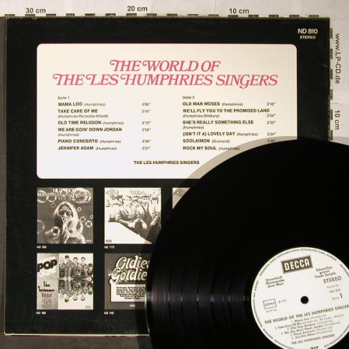 Les Humphries Singers: The World Of - Warenprobe, vg+/m-, Decca(ND 810), D, 1973 - LP - H5359 - 5,00 Euro