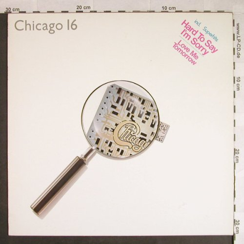 Chicago: 16, WEA(K 99 235), D, 1982 - LP - H543 - 4,00 Euro