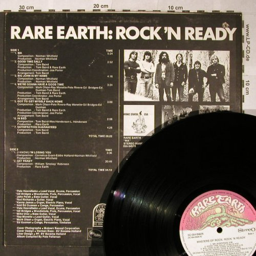 Rare Earth: Rock'n Ready-Masters Of Rock,vg+/CO, Rare Earth(5C 054-94625), NL,  - LP - H5447 - 7,50 Euro