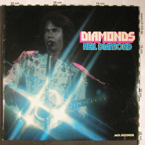 Diamond,Neil: Diamonds,Foc, Poster-Cover, MCA(stereophonic)(6.28311), D, 1974 - 2LP - H5458 - 7,50 Euro