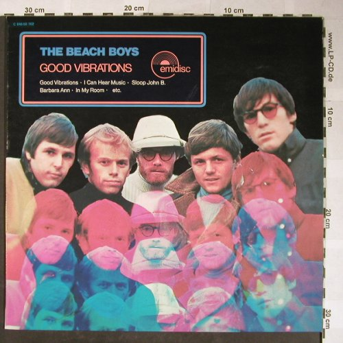 Beach Boys: Good Vibrations, Emidisc(C 048-50 702), NL,  - LP - H5566 - 5,00 Euro
