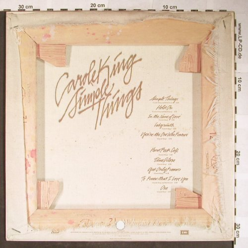 King,Carole: Simple Things,Foc, Capitol(3C061-85180), I, 1977 - LP - H5607 - 7,50 Euro