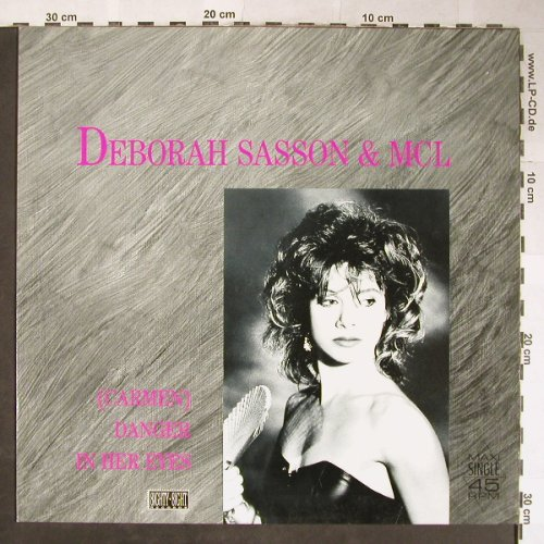 Sasson,Deborah: Carmen Danger in her Eyes*2/Call Me, West Side/EMI(2 02943 6), D, 1988 - 12inch - H5643 - 4,00 Euro