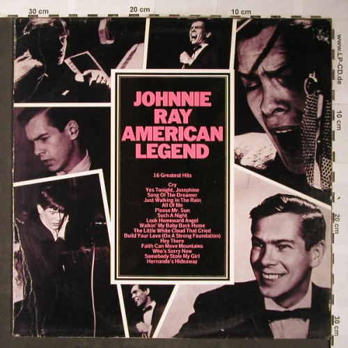 Ray,Johnnie: American Legend, m-/vg+, CBS,Muster-Stoc(EMB 31 696), NL, 1979 - LP - H5646 - 5,00 Euro