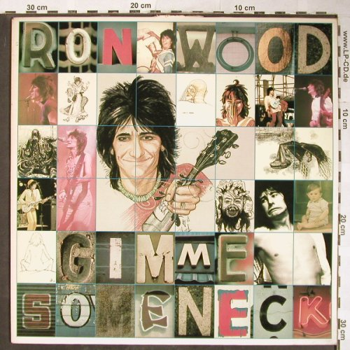 Wood,Ron: Gimme Some Neck, CBS(CBS 83 337), NL, 1979 - LP - H5748 - 7,50 Euro