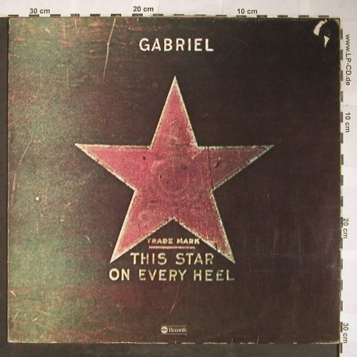 Gabriel: This Star on Every Heel, vg+/vg+, ABC(27 123 XOT), D, 1975 - LP - H5758 - 6,00 Euro