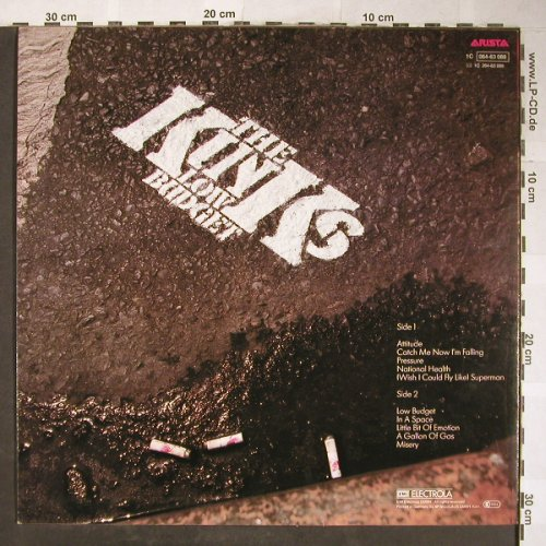 Kinks: Low Budget, Arista(064-63 089), D, 1979 - LP - H5759 - 5,50 Euro