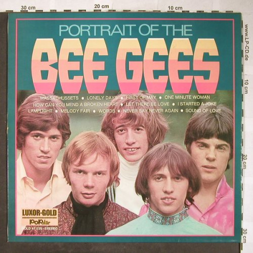 Bee Gees: Portrait Of The, Luxor-Gold/PoPulär(GOLD 41 039), D,Ri,  - LP - H5773 - 5,50 Euro