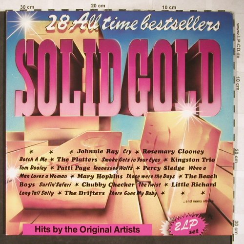 V.A.Solid Gold-25 All Time Bestsell: Dave Dudley...Paul and Paula, Foc, BRC(BRC 91 320 2), D, 1982 - 2LP - H5818 - 5,00 Euro