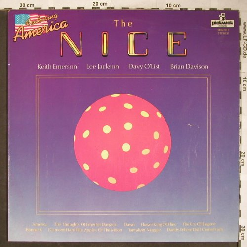Nice: America, Ri, Pickwick(SHM 917), UK, 1972 - LP - H5860 - 5,00 Euro