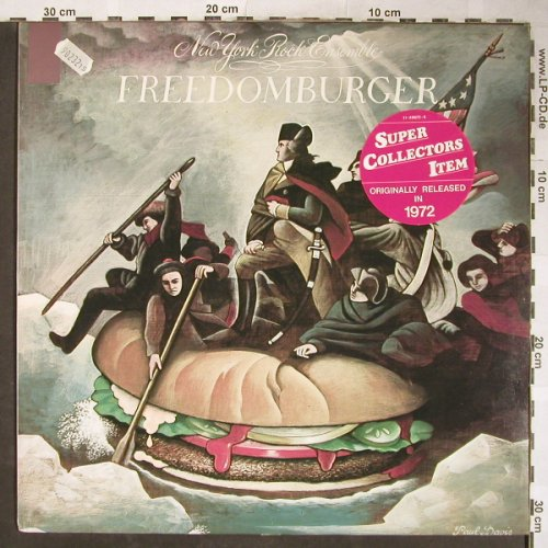 New York Rock Ensemble: Freedomburger, Ri, vg+/m-, CBS(EMB 31922), NL, 1972 - LP - H5862 - 7,50 Euro