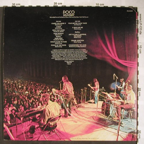 Poco: Deliverin', Foc, Epic(PE 30209), US,  - LP - H5874 - 12,50 Euro