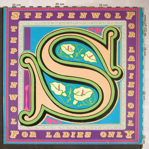 Steppenwolf: For Ladys Only, Foc,Penis Car Cover, Probe-pink,Stol(1C 062-92 826 D), D,VG+/vg+,  - LP - H5912 - 20,00 Euro