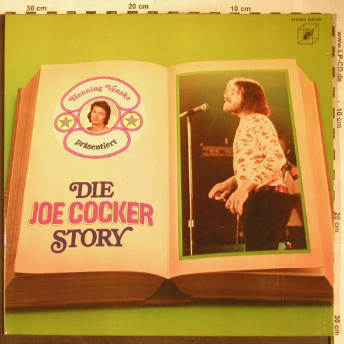 Cocker,Joe: Die Joe Cocker Story-H.Venske..., Curb, Foc(2326 034), D,co,Stol, 1972 - LP - H5949 - 7,50 Euro