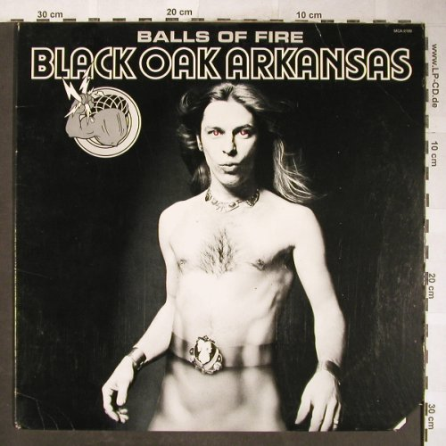 Black Oak Arkansas: Balls Of Fire, vg+/vg+, MCA(MCA-2199), US, CO, 1976 - LP - H5958 - 7,50 Euro