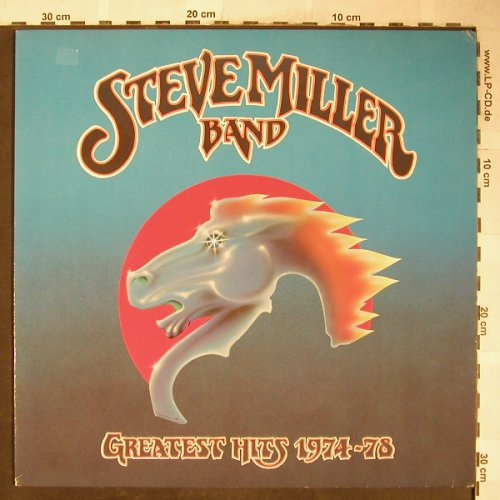 Miller Band,Steven: Greatest Hits 1974-78, vg+/vg+, Mercury(9199 916), D, 1978 - LP - H5983 - 5,00 Euro