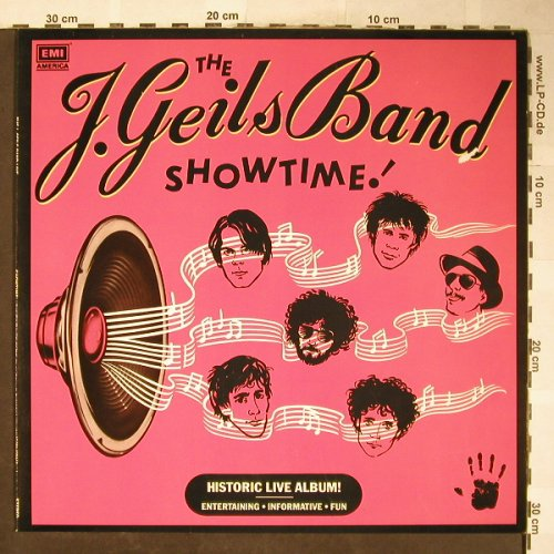 Geils Band,J.: Showtime, m-/vg+, EMI(064-400 144), EEC, 1982 - LP - H5999 - 6,00 Euro