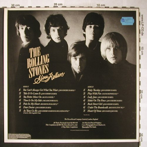 Rolling Stones: Slow Rollers, Decca-Rock Echoes(TAB 30), UK,Ri,  - LP - H6047 - 25,00 Euro