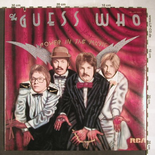 Guess Who: Power In The Music, RCA(APL1-0995), US, Co, 1975 - LPgx - H6058 - 6,50 Euro