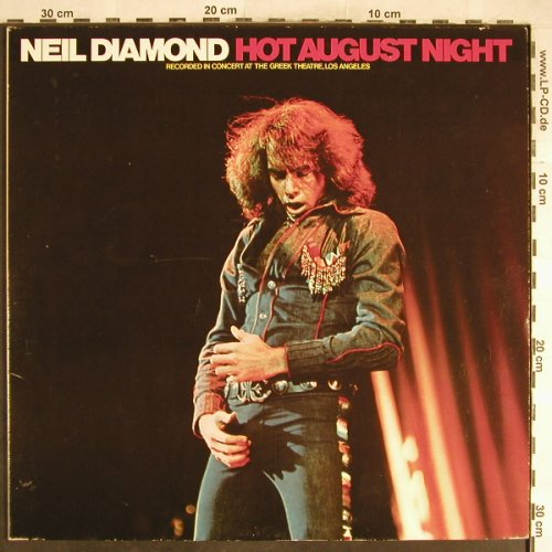 Diamond,Neil: Hot August Night , Foc, MCA(300 751-406), D, Ri, 1972 - 2LP - H6465 - 5,00 Euro