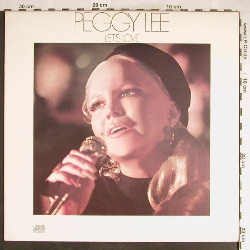 Lee,Peggy: Let's Love, Atlantic(ATL 50 064), UK/D, 1974 - LP - H6487 - 9,00 Euro