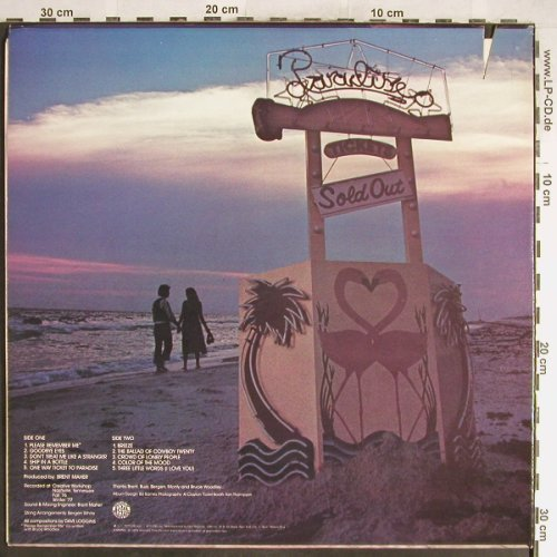 Loggins,Dave: One Way Ticket To Paradise, Epic(PE 34 713), US, CO, 1977 - LP - H6512 - 9,00 Euro