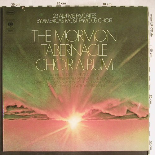 Mormon Tabernacle Choir: Same,Foc,R.Condie, CBS(78 276), D, Co, 1974 - 2LP - H6601 - 6,00 Euro