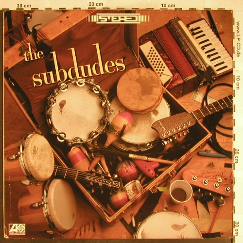 Subdudes: Same, Atlantic(82015-1), US, 1989 - LP - H6653 - 5,50 Euro