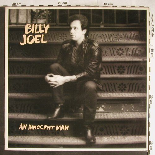 Joel,Billy: An Innocent Man, CBS(CBS 25 554), NL, 1983 - LP - H6675 - 5,00 Euro