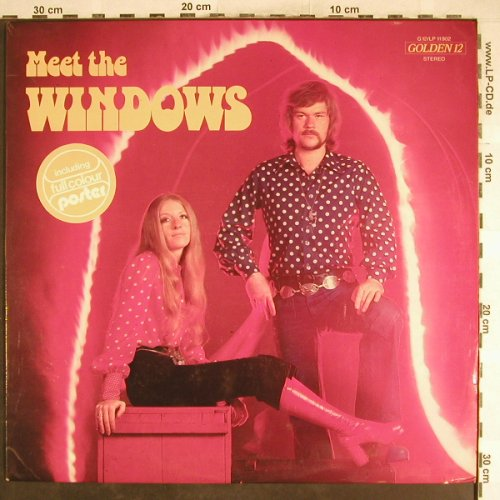 Windows: Meet the, No Poster, vg+/vg+, Golden 12(G12/LP11902), D, 1972 - LP - H6814 - 7,50 Euro