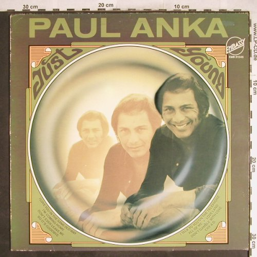 Anka,Paul: Just Young, Embassy(EMB 31545), NL, Ri,  - LP - H6984 - 5,50 Euro