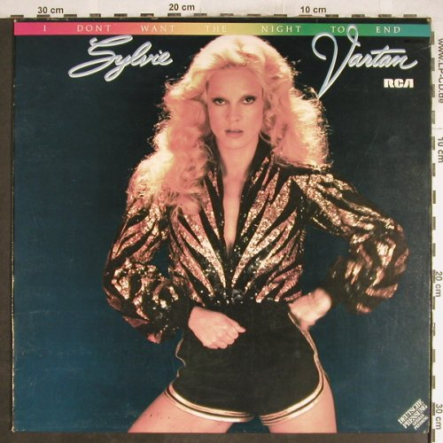 Vartan,Sylvie: I don't want the night to end, RCA Victor(PL 13015), D, vg+/m-, 1979 - LP - H7021 - 5,00 Euro