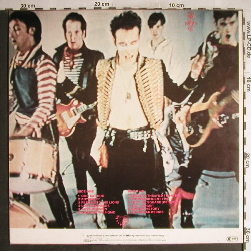 Adam And The Ants: Kings Of The Wild Frontier, CBS(84549), NL, 1980 - LP - H7079 - 5,00 Euro