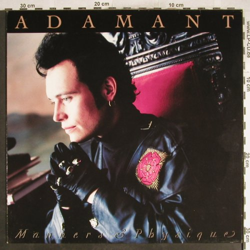 Adam Ant: Manners & Physic, MCA(2292 56625-1), D, 1989 - LP - H7088 - 5,00 Euro