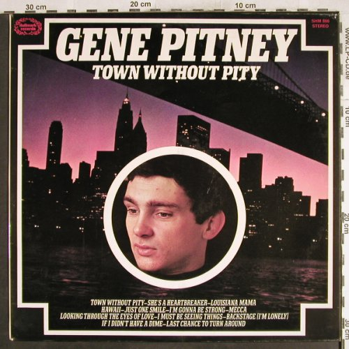 Pitney,Gene: Town Without Pity, Hallmark(SHM 866), UK, 1969 - LP - H7177 - 5,00 Euro