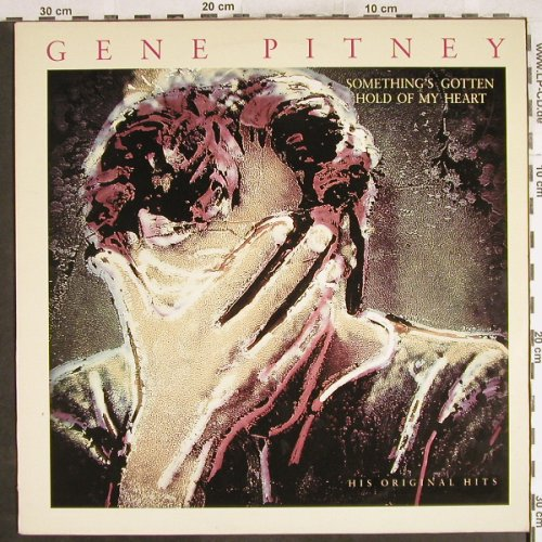 Pitney,Gene: Something's Gotten Hold Of My Heart, CBS(CBS 465117), NL, 1989 - LP - H7178 - 6,00 Euro