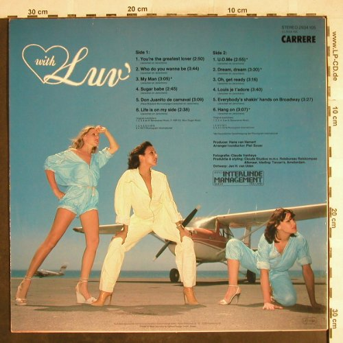 Luv': With Luv', Carrere(2934 105), D, 1978 - LP - H7206 - 6,00 Euro