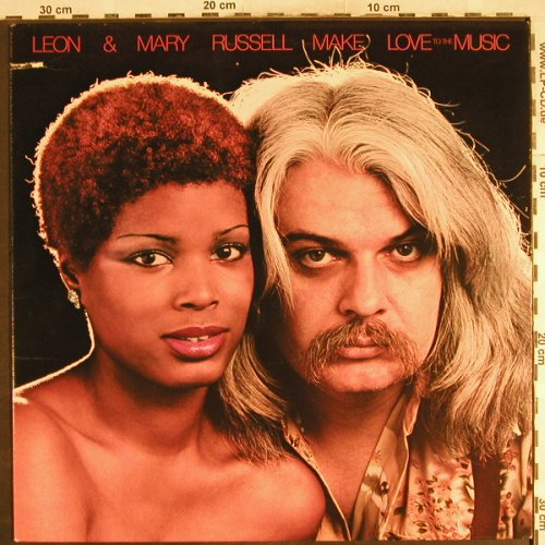 Russell,Leon & Mary: Make Love To The Music,Co, Paradise(), US, 1977 - LP - H7275 - 7,50 Euro
