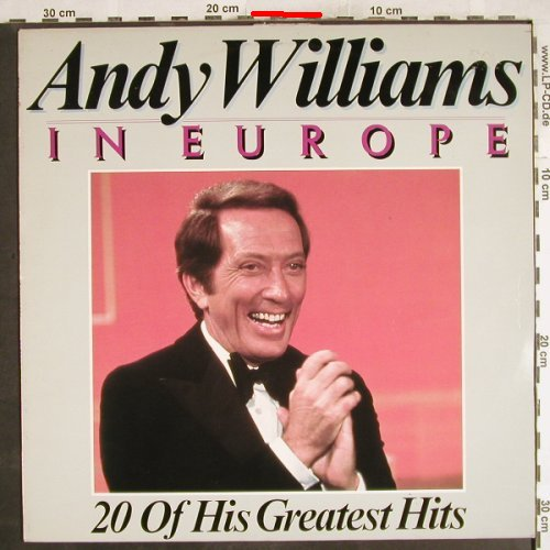 Williams,Andy: In Europe, 20 of his Great..,m-/vg+, CBS(CBS 84054), NL, 1979 - LP - H7278 - 4,00 Euro