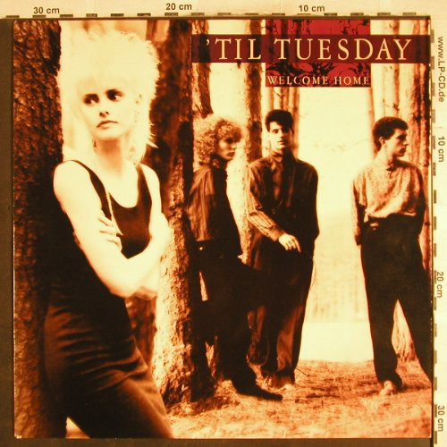 'til Tuesday: Welcome Home, Epic(EPC 57094), NL, 1986 - LP - H7304 - 4,00 Euro