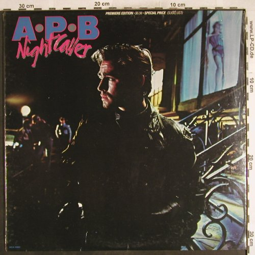 A.P.B.: Night Caller, FS-New, MCA(MCA-39003), US, 1983 - LP - H7306 - 7,50 Euro
