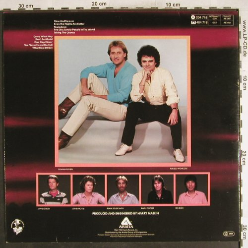 Air Supply: Now And Forever, Arista(204 718-320), D, 1982 - LP - H7307 - 5,50 Euro