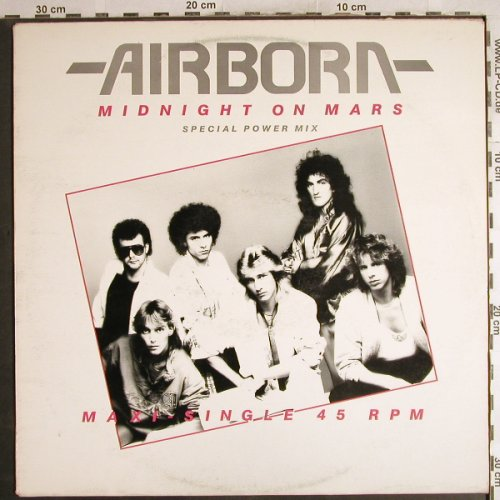 Airborn: Midnight On Mars*2+1, m-/vg+, CBS(A 12.6826), NL, 1986 - 12inch - H7309 - 1,00 Euro