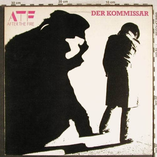 After The Fire: Der Kommissar, CBS(25076), NL, 1982 - LP - H7311 - 5,00 Euro