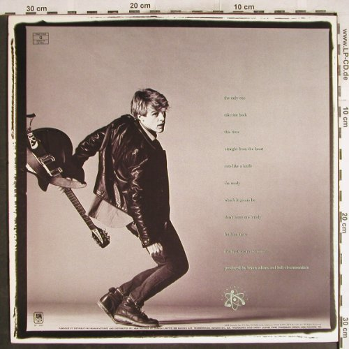 Adams,Bryan: Cuts Like A Knife, AM(4919), CDN, 1983 - LP - H7315 - 5,00 Euro
