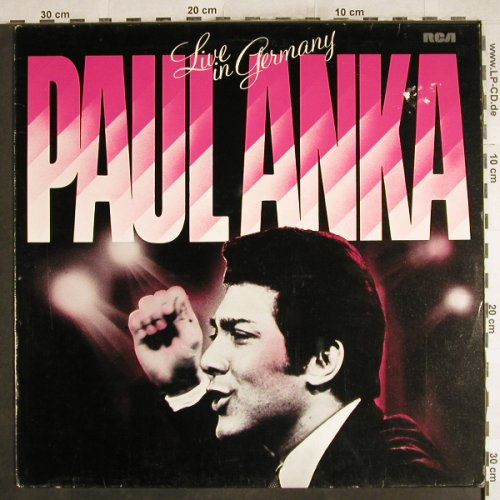 Anka,Paul: Live In Germany (1964), m-/VG+, RCA International(26.21564 AF), D, Ri,  - LP - H7331 - 6,00 Euro