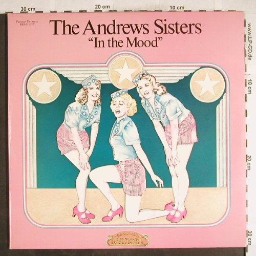 Andrews Sisters: In the Mood, Foc, Famous Twinsets(PAS-2-1023), US, 1974 - 2LP - H7347 - 7,50 Euro