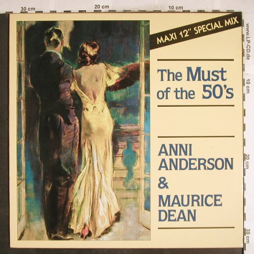 Anderson,Annie & Maurice Dean: The Must Of The 50's, 1-sided, Carrere(CAR 13028), B,  - 12inch - H7352 - 2,50 Euro