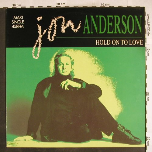 Anderson,Jon: Hold On To Love/In a Lifetime +1, CBS(CBS 651514 6), NL, 1988 - 12inch - H7356 - 3,00 Euro