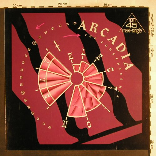 Arcadia: Election Day*2+1, EMI(20 0815 6), D, 1985 - 12inch - H7368 - 1,00 Euro